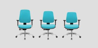 cadeira giratoria para escritorio