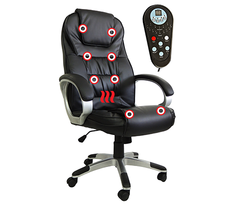 cadeira de escritorio massageadora pontos