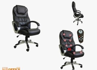 cadeira presidente massageadora para escritorio
