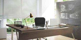 mesa de vidro para escritorio venezaline