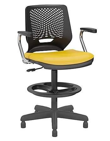 Cadeira Caixa Giratória Secretaria C/B Beezi