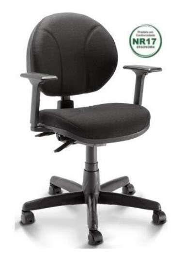 Cadeira Executiva Giratória Back System com Costura com Braço – Opera