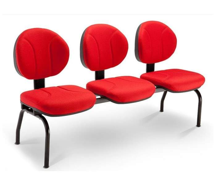 Cadeira Longarina Executiva 03 Lugares – Operativa