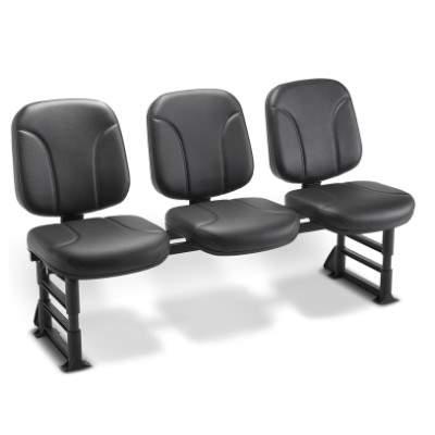 Cadeira Longarina Diretor 03 Lugares – Operativa