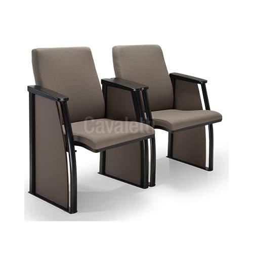 Cadeira de Auditório Fixa 02 Lugares – Extra 12020