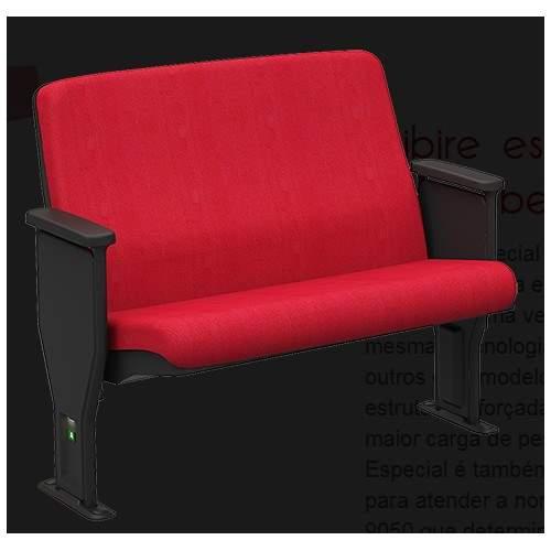 Cadeira de Auditório Fixa 02 Lugares – Esibire