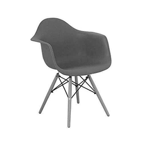 Poltrona para Recepção Fixa sem Braço – 1120 – Charles Eames
