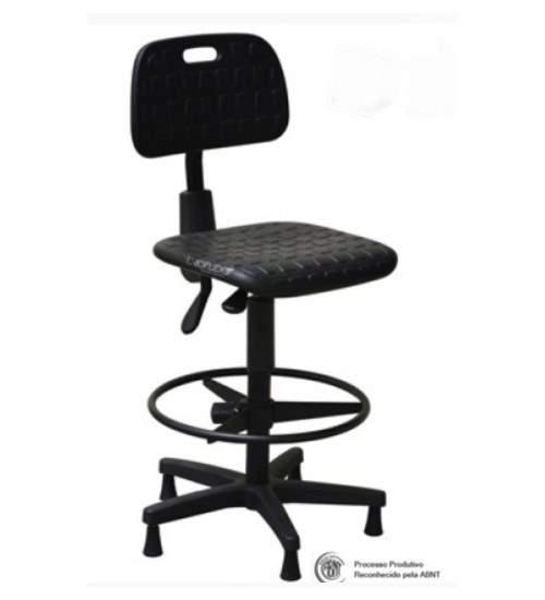 Banqueta Cadeira Industrial Secretária Assis