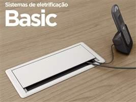 Caixa de tomada para mesa Basic