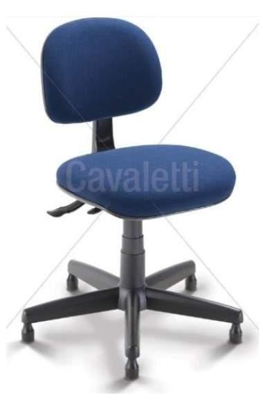 Cadeira Caixa Giratória Costureira S/B CG0402243 Start Cavaletti