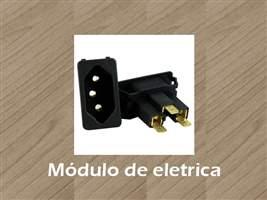Modulo de elétrica - para caixa de tomada para mesa