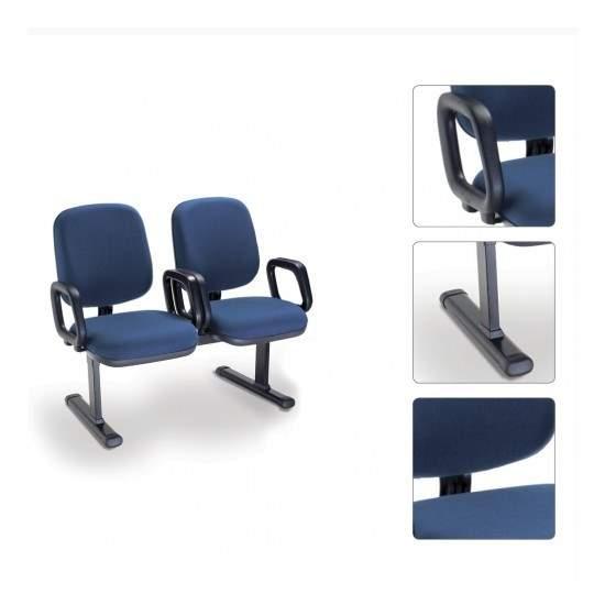 Cadeira Longarina Diretor de 2 Lugares PA0400525 Start Cavaletti