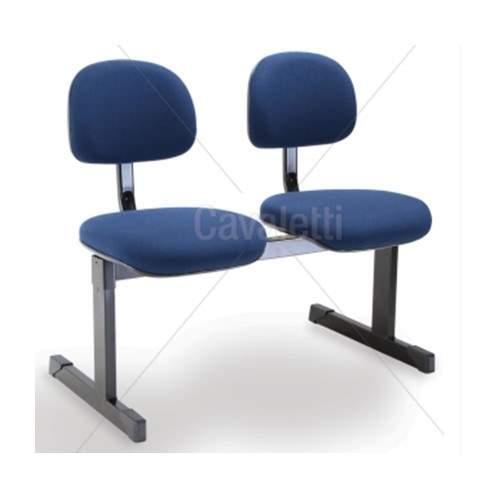 Cadeira Longarina Secretária de 2 Lugares CS0490032 Start Cavaletti