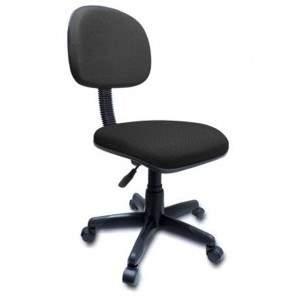 A Cadeira Secretária Giratória Reta sem Braço