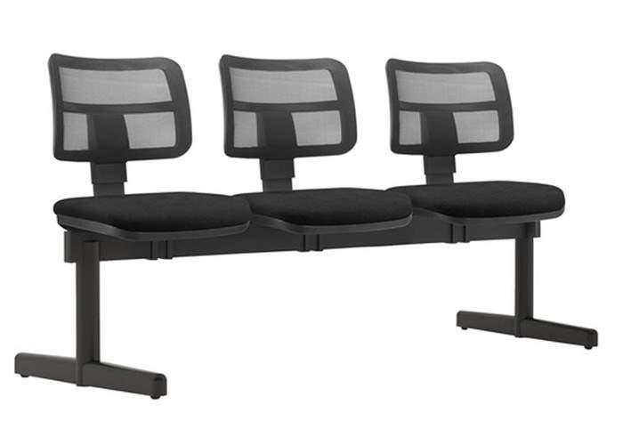 Cadeira Longarina Enc. Tela 3 Lugares ZIP