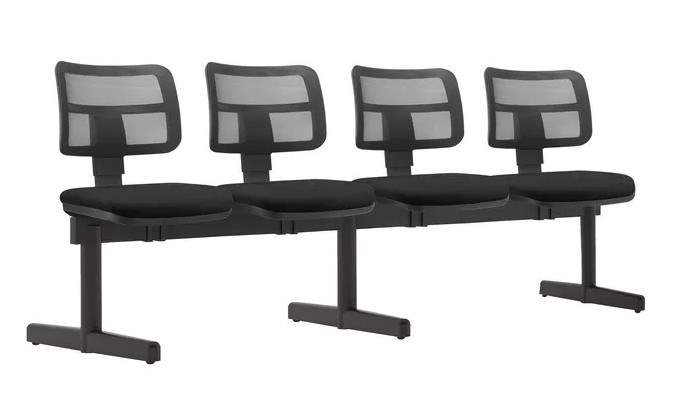 Cadeira Longarina Enc. Tela 4 Lugares ZIP