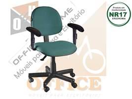 Cadeira Executiva Giratória Com Braço Dado