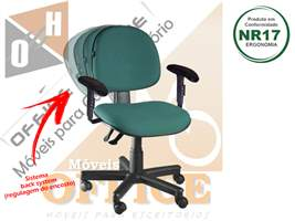 Cadeira executiva giratória back dado