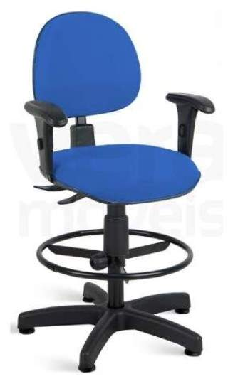Cadeira Caixa Giratória Executiva Back System C/B Office