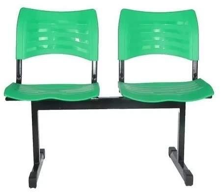 Cadeira Longarina Secretária de 02 Lugares Turin