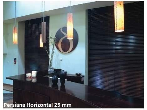 Persiana Horizontal de Alumínio 25 mm