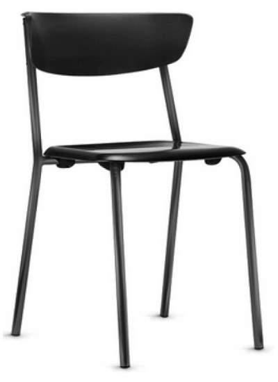 Cadeira Escritório Fixa Empilhável Bit