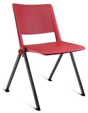 Cadeira Escritório Fixa Empilhável Coletiva UP