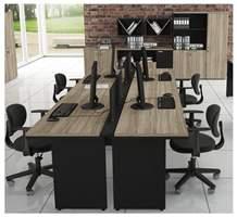 Conjunto Mesa Plataforma para escritório
