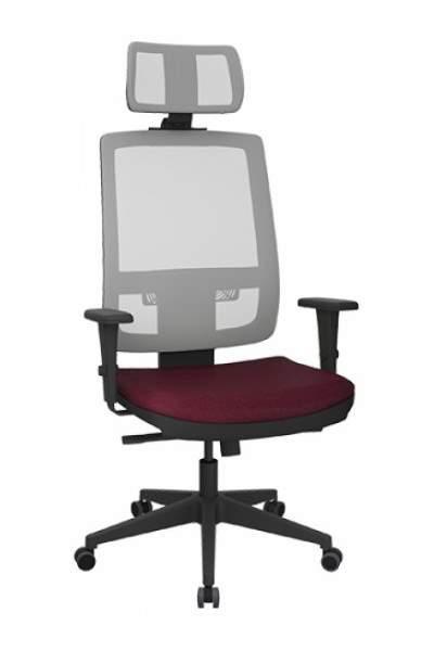 Cadeira Giratória Presidente Extra Tela C/B Brizza