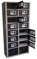 Armário guarda volumes e celular fechadura eletrônica