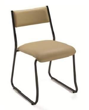 Cadeira Escritório Fixa Empilhável CF0900072 Coletiva Cavaletti