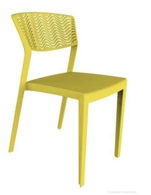 Cadeira Fixa Empilhável – Dunass