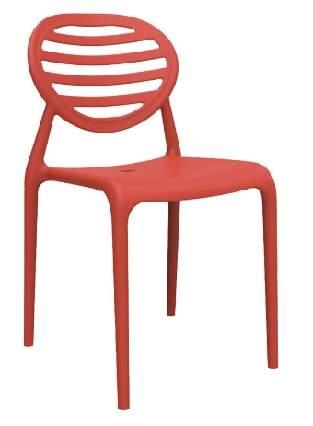 Cadeira Escritório Fixa Empilhável Stripe