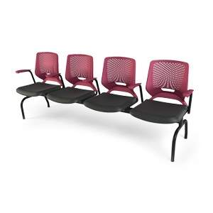 Cadeira Longarina de 4 Lugares Bezzi