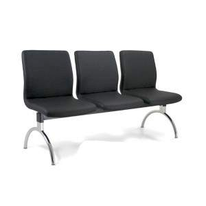 Cadeira Longarina Diretor de 3 Lugares CS1801004 Slim Cavaletti