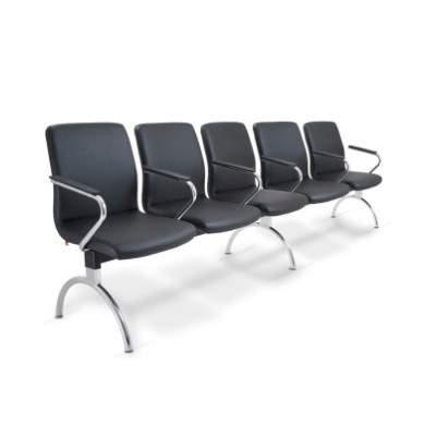 Cadeira Longarina Diretor de 05 Lugares CS1801022 Slim Cavaletti