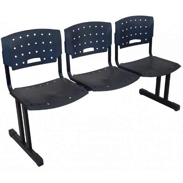 Cadeira Longarina de 03 Lugares – MR
