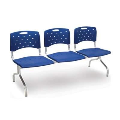 Cadeira Longarina de 03 Lugares – Cavaletti – Viva