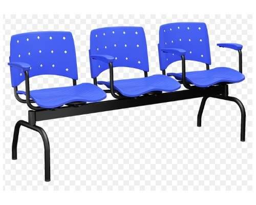 Cadeira Longarina de 03 Lugares – Ergoplax
