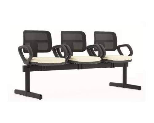 Cadeira Longarina Telada de 03 Lugares – ZIP