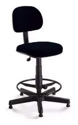 Cadeira Caixa Giratória Secretária Anatômica S/B Office
