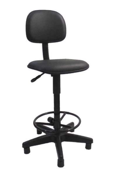 Cadeira Caixa Giratória Secretária Reta S/B Office