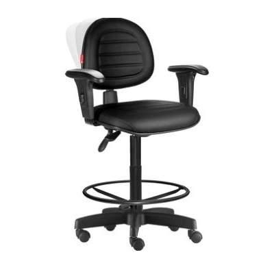 Cadeira Caixa Giratória Executiva Back System C/B Viena Plus Office