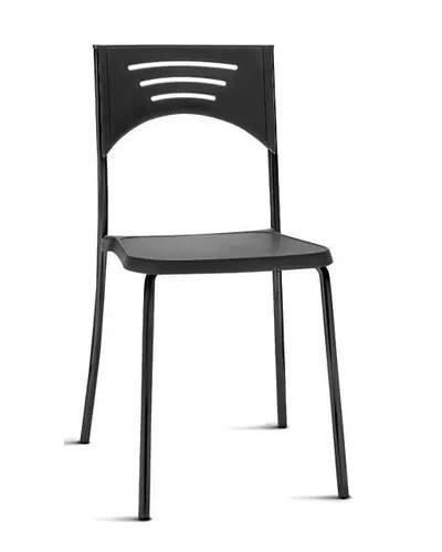 Cadeira Escritório Fixa Empilhável Bliss