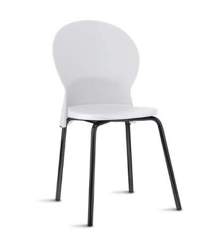 Cadeira Escritório Fixa Empilhável Luna