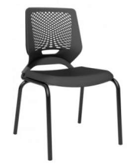 Cadeira Escritório Fixa 4 Pés Beezi