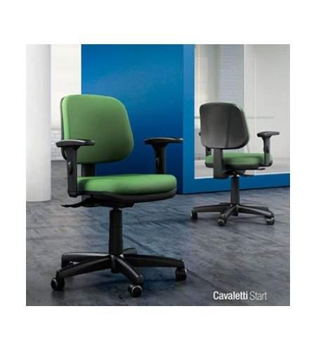 Cadeira Giratória Executiva C/B CG0410306 Start Cavaletti