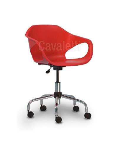 Cadeira Giratória Secretária Concha C/B PG3310401 Stay Cavaletti