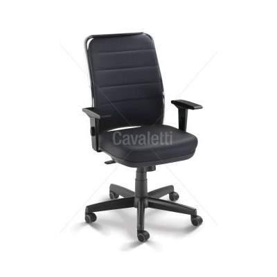 Cadeira Giratória Diretor C/B PG1650150 NewNet Soft Cavaletti