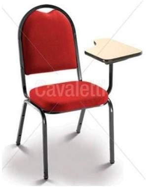 Cadeira Universitária Diretor com Prancheta Escamoteável CF0100171 Coletiva Cavaletti